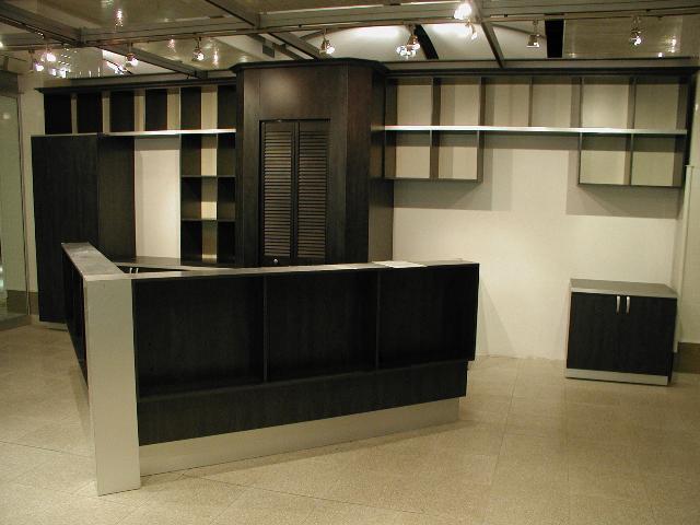 meubles et des bureaux sur mesure les entreprises alain pilon inc. Black Bedroom Furniture Sets. Home Design Ideas