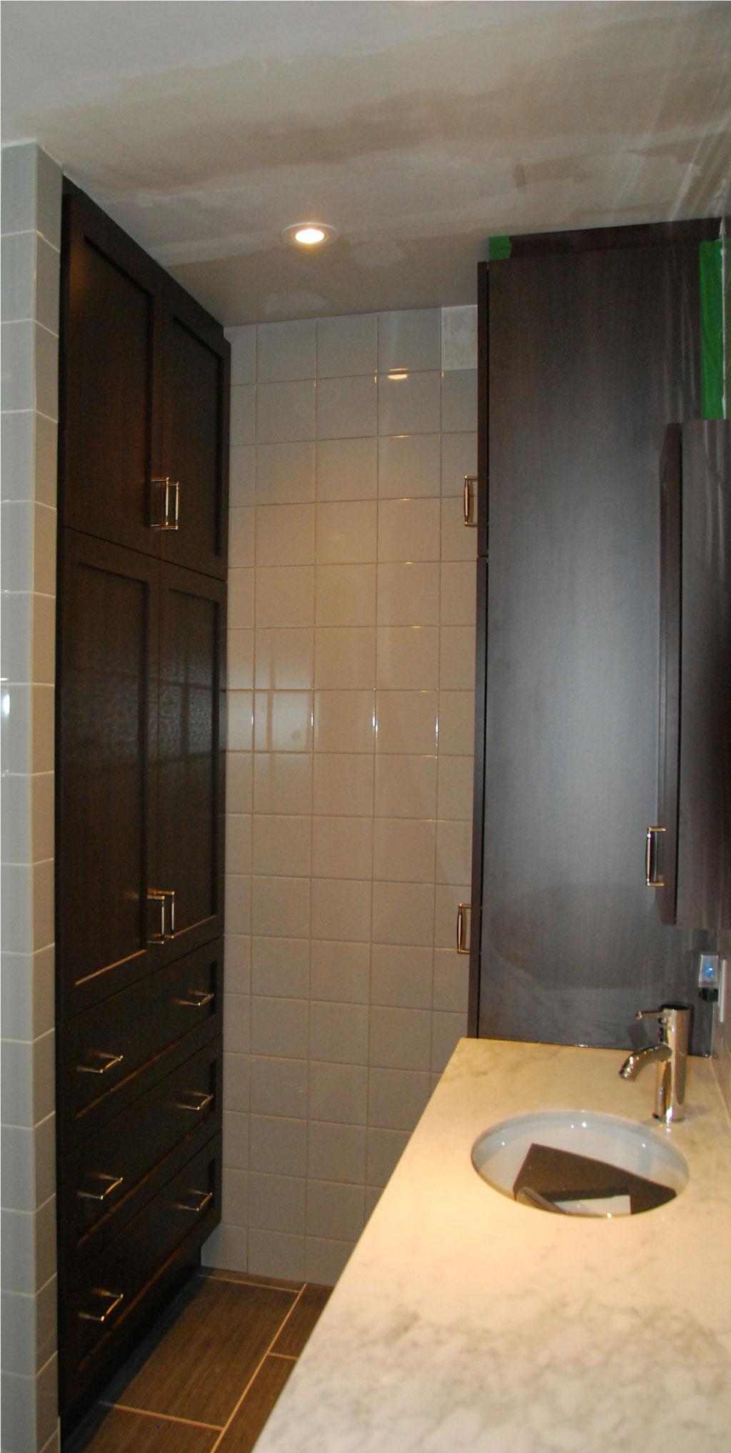 Vanit et armoires les entreprises alain pilon inc for Salle de bain urbaine