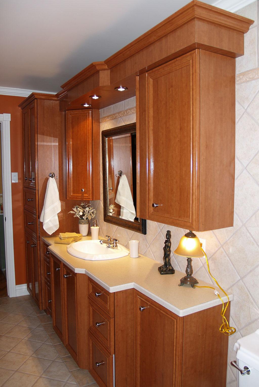 Salles de bain les entreprises alain pilon inc for Rangement malin salle de bain