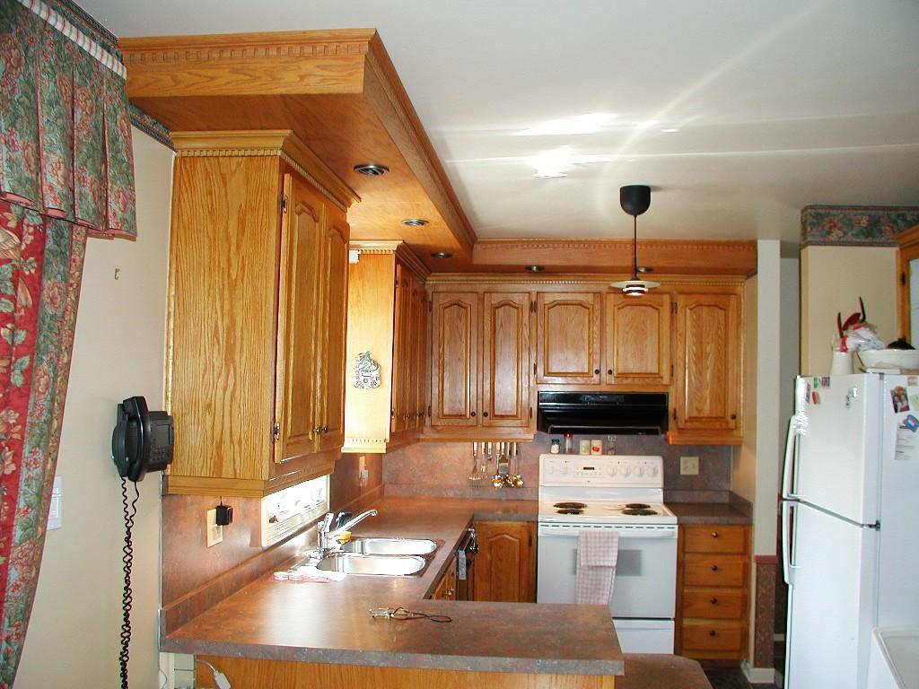 Armoires style colonial les entreprises alain pilon inc for Armoires de cuisine en bois