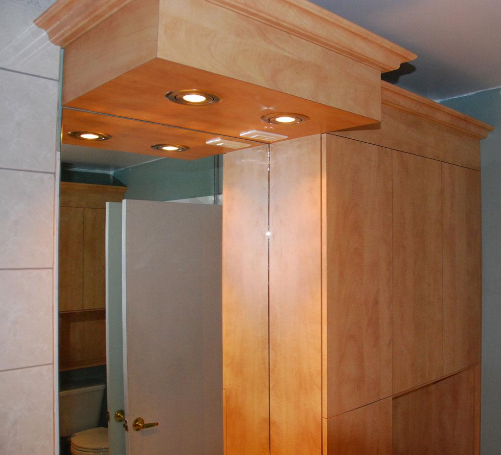Salles de bain les entreprises alain pilon inc for Armoire salle bain